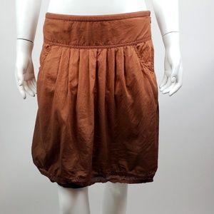 ATHLETA Brown Ombre Whisper Skirt - Size 4